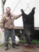 Congrats to our fearless leader John Creef who got his first bear!