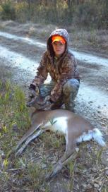 Congrats to clubmember Mike Hardisons' son George who got this doe!